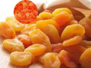 Benefits of dry apricots