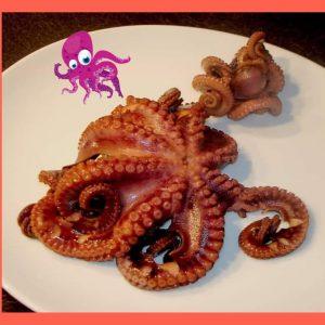 Octopus recipe with shrimp for best  keto diet